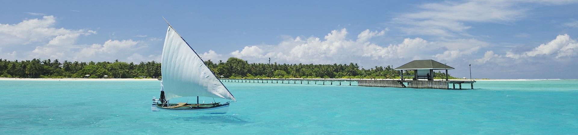 Malediven Boot