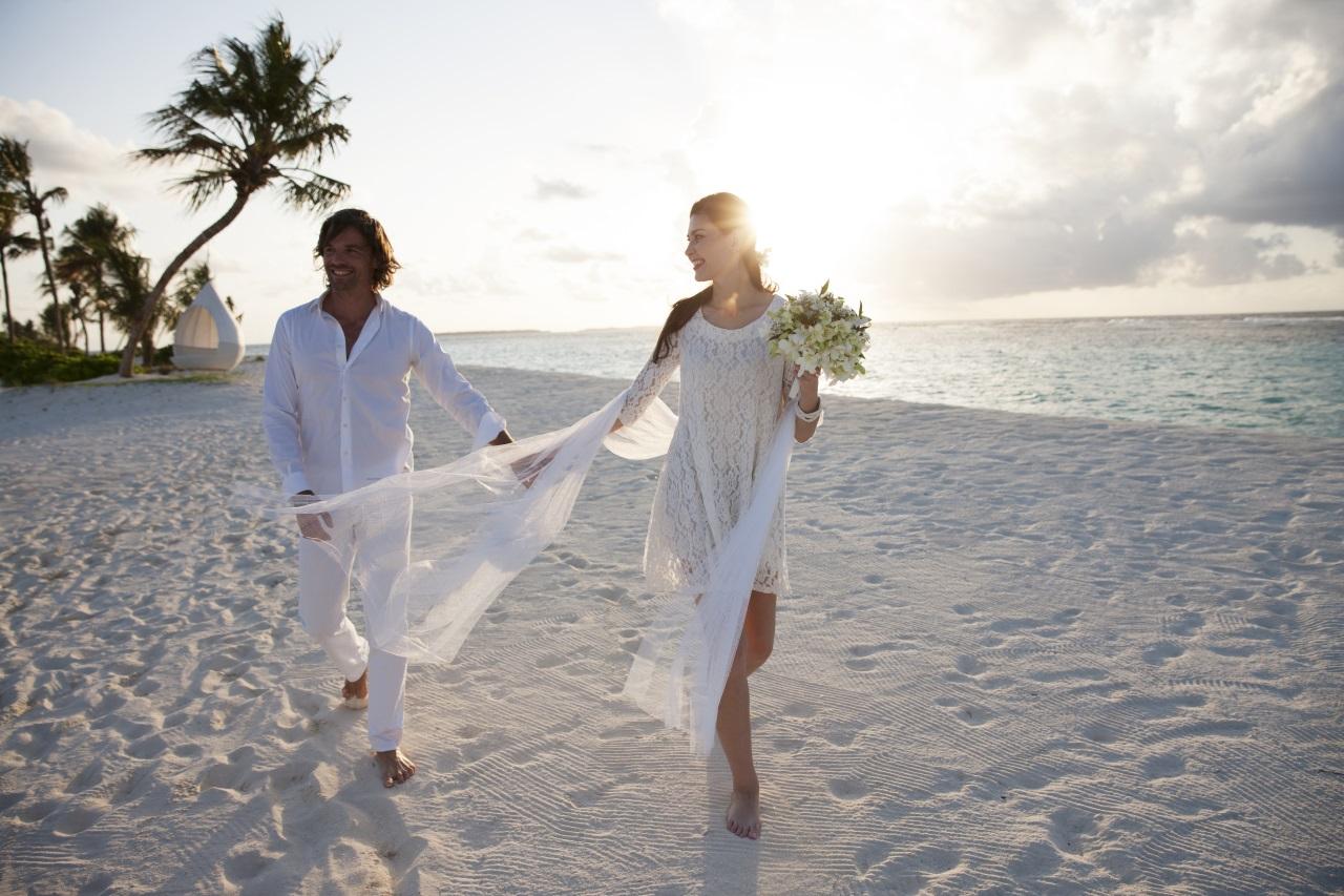 Male Male Heiraten Hochzeit Auf Den Malediven