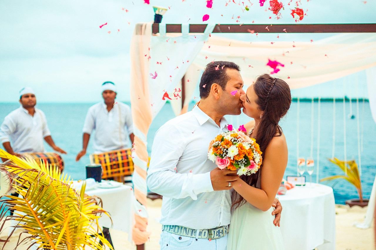 Lily Beach Hochzeit Malediven