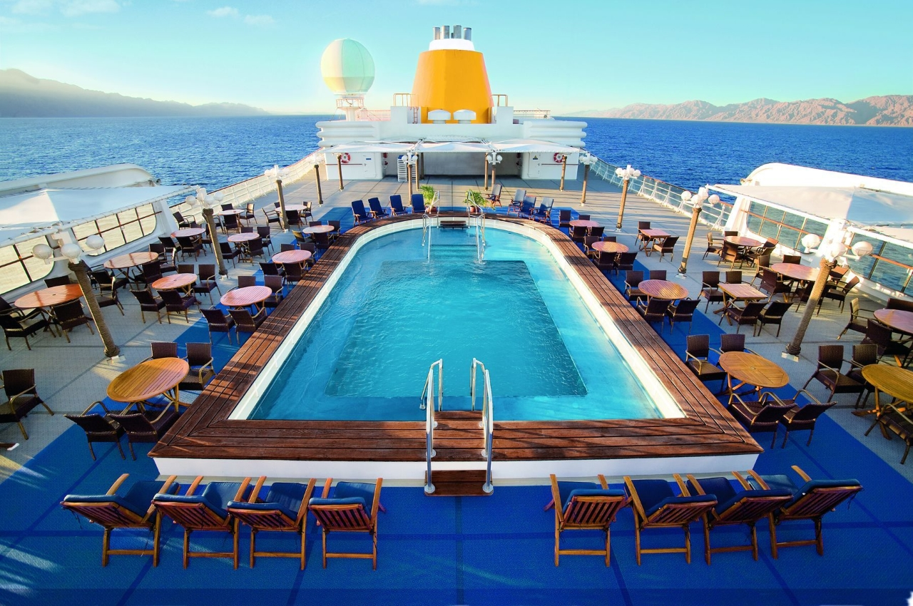 MS Hamburg Pool Malediven