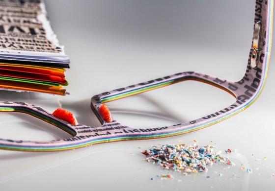 Designbrillen aus Papier