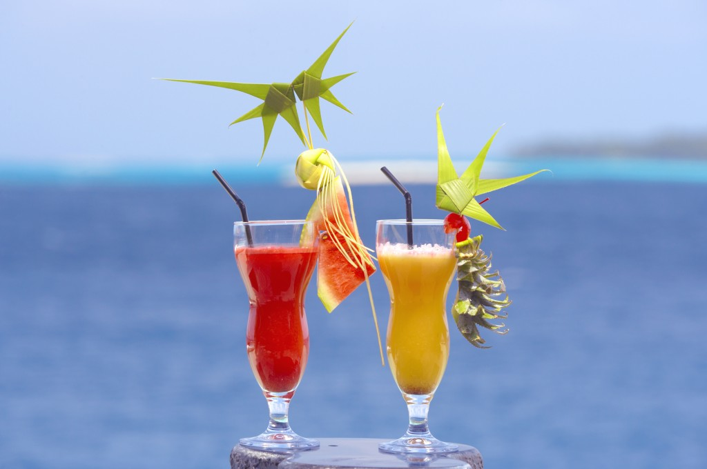 Lily Beach Cocktails