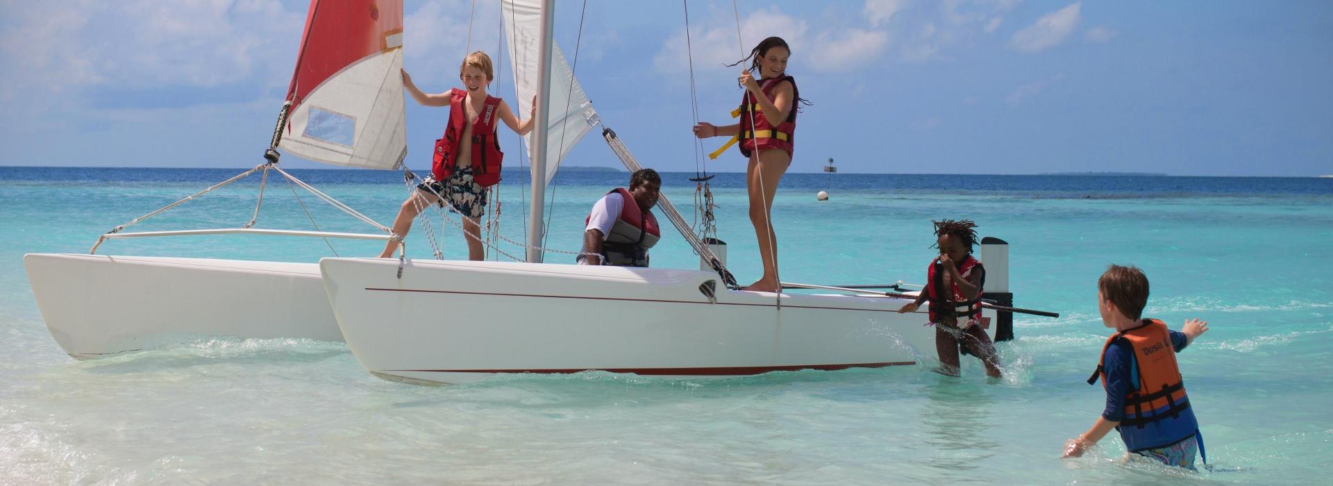 Mit Kindern auf die Malediven