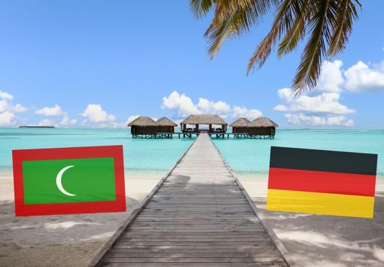 Malediven und Deutschland