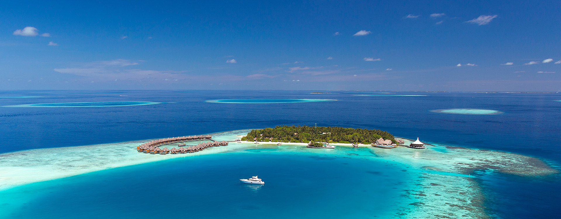 Baros Maldives Aerial View