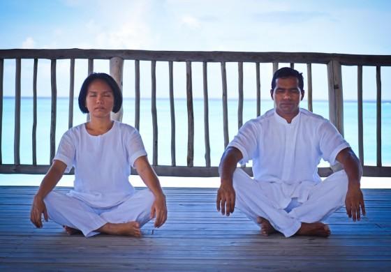 Yoga-Schlaf-Programm
