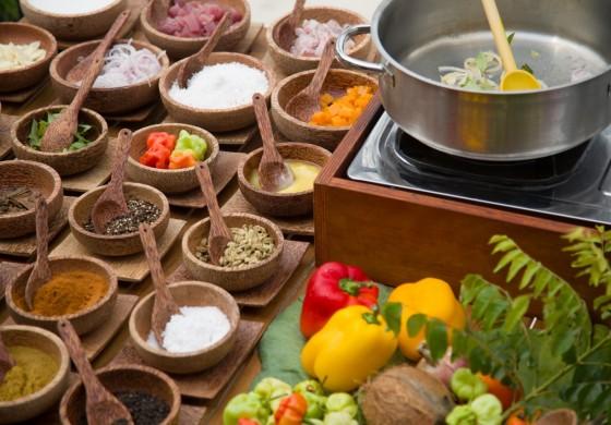 Köstliche Speisen der Malediven