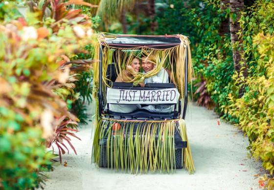 Onlineshop für die Hochzeitsreise