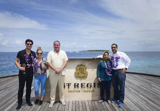 The St. Regis Maldives Vommuli Resort eröffnet