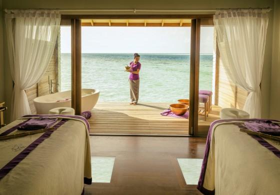 Duniye SPA auf Hurawalhi Island: tropische Oase der Ruhe & Entspannung